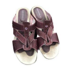 Merrell Luxe Slide Viola Women's 8 Purple Sandal